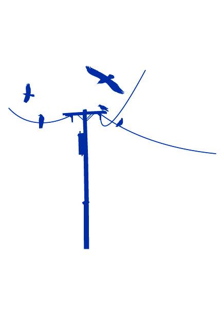 Data fabrik - Poteau electrique dans mon jardin ...